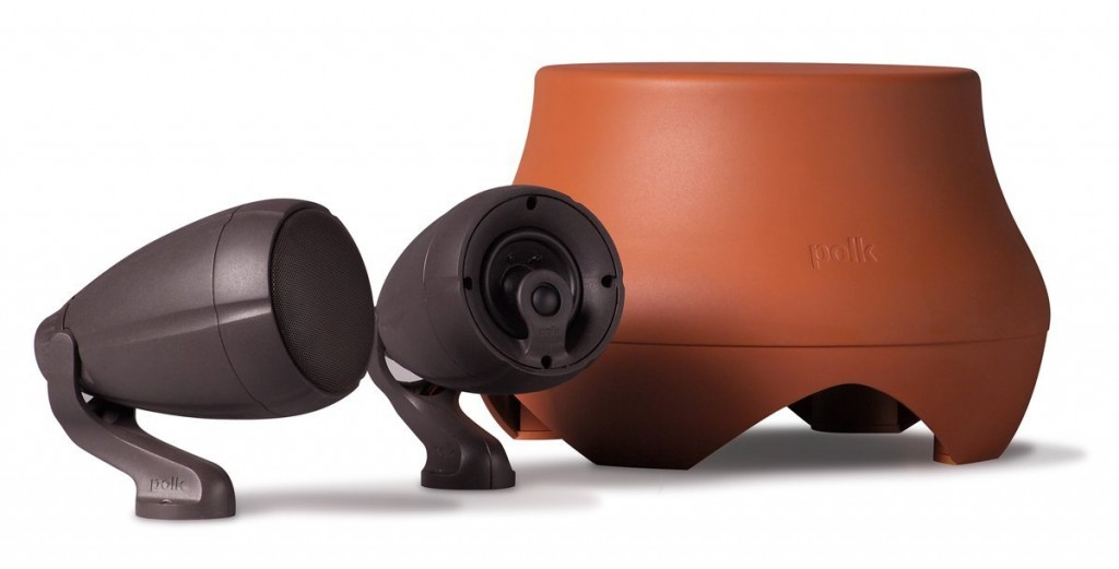 #1 The Polk Audio Atrium Garden Outdoor Speakers
