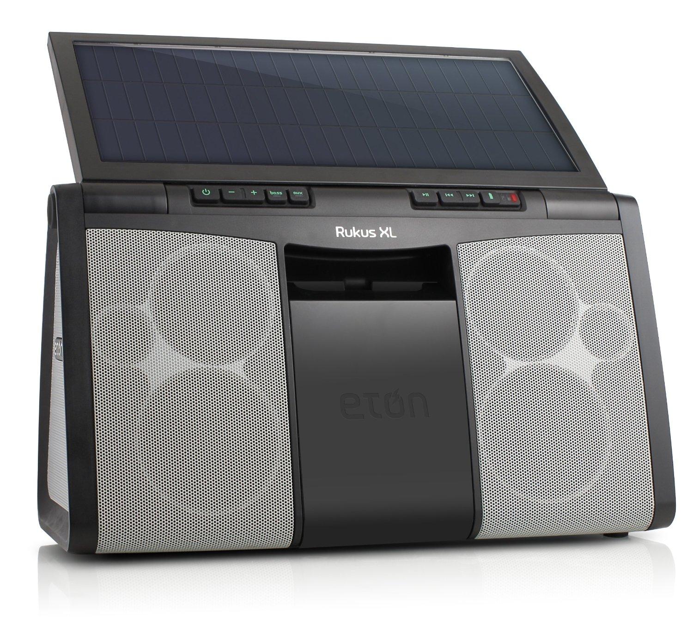 solar powered speaker