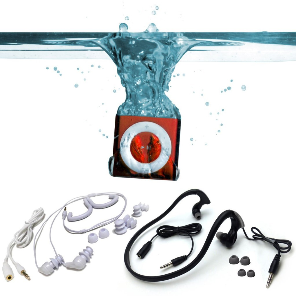 Underwater Audio Waterproof Headphones for Swimming