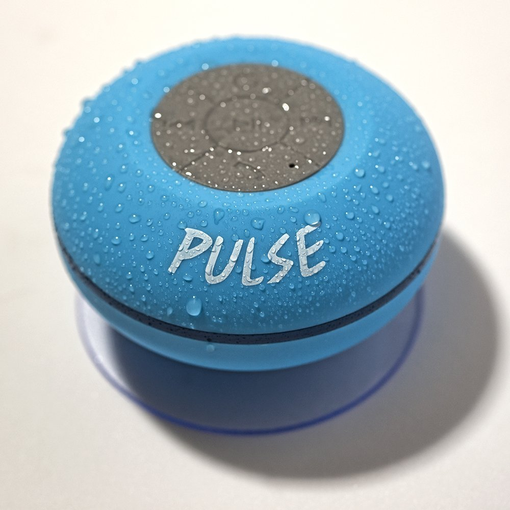 Pulse! Waterproof Bluetooth Shower Speaker