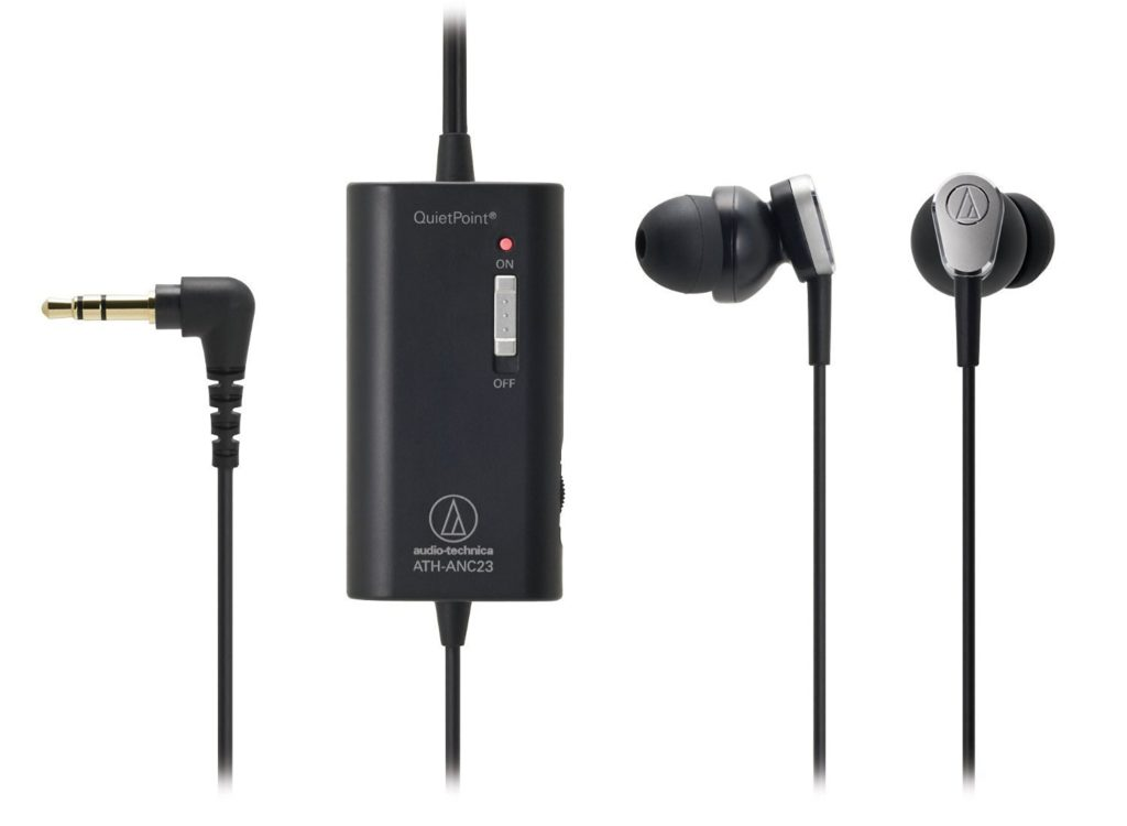 Audio-Technica Best Noise cancelling earbuds
