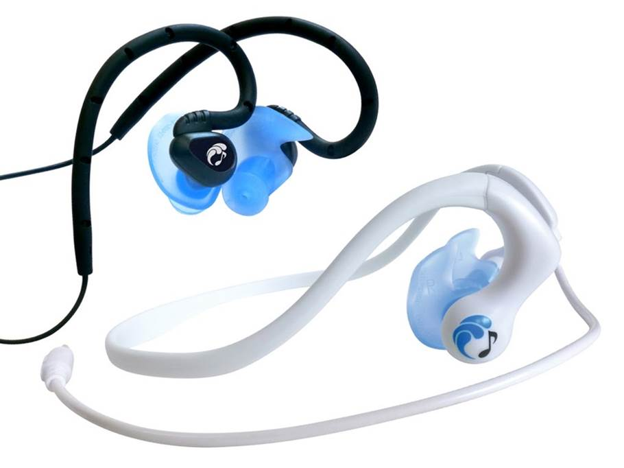 HydroActive waterproof headphones for swimming