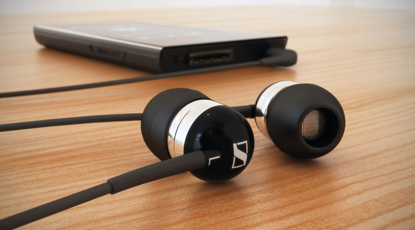 Sennheiser CX 300-II Precision Noise Isolating Earbuds