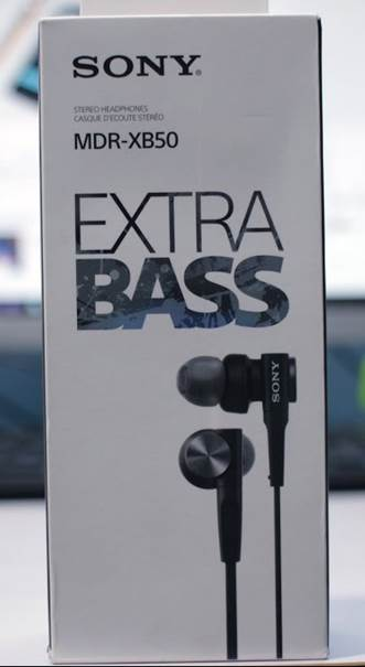Sony MDR-XB50AP Extra Bass Earbuds (1)