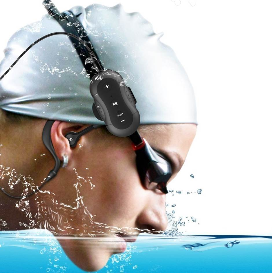 Aerb MD190 4GB Waterproof Headphones for Swimming