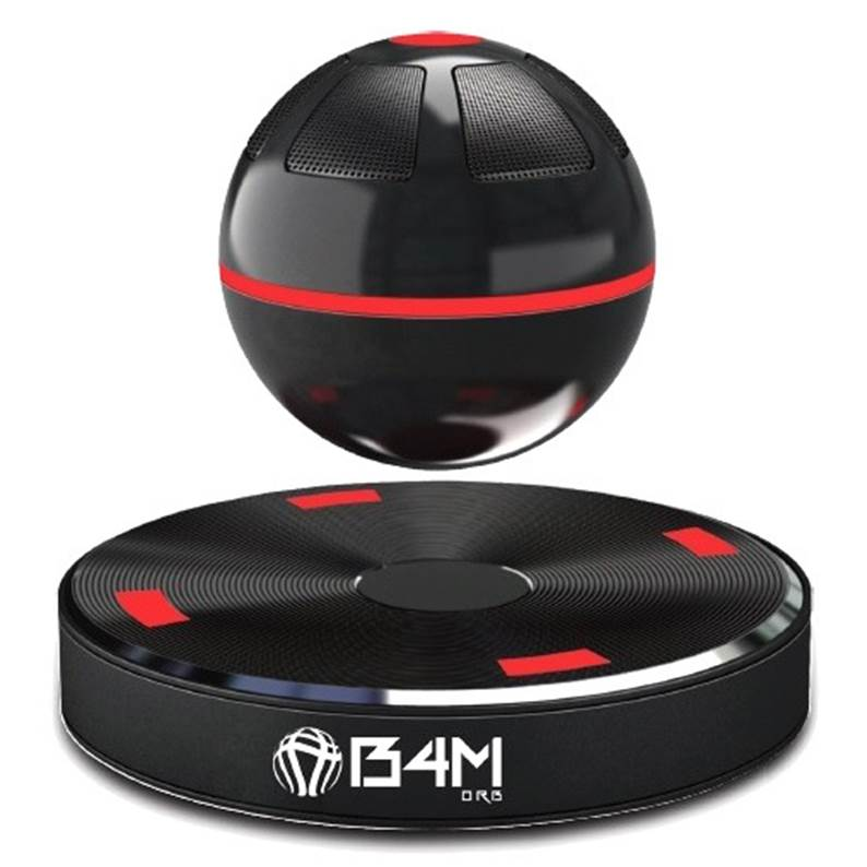 B4M ORB Dark Levitating Bluetooth Speaker