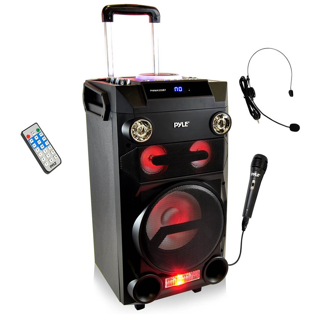 Pyle Boombox Portable PA System