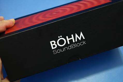 BOHM SoundBlock Wireless Speaker 1