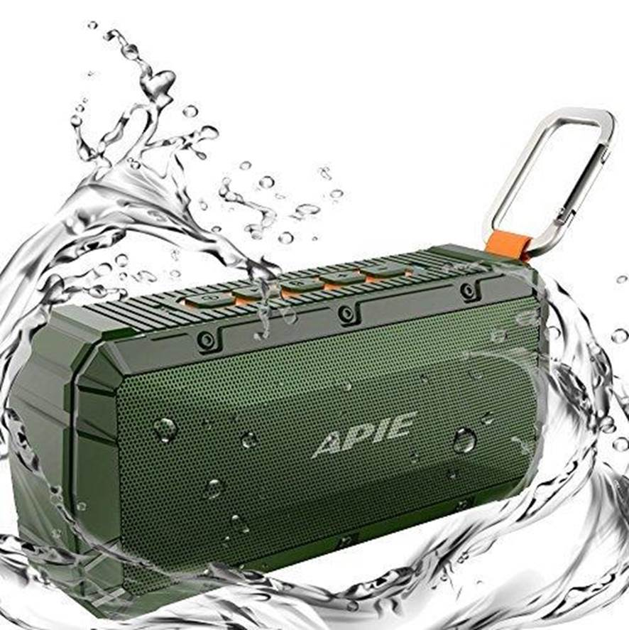 APIE Waterproof Bluetooth Speaker