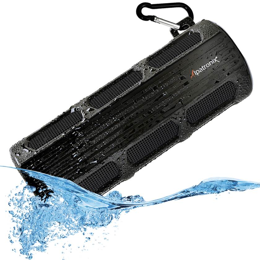 Alpatronix AX410 Waterproof Bluetooth Speaker