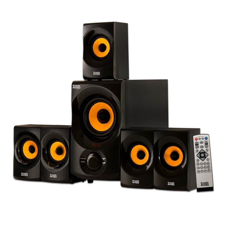 Acoustic Audio AA5170 Surround Sound Speakers