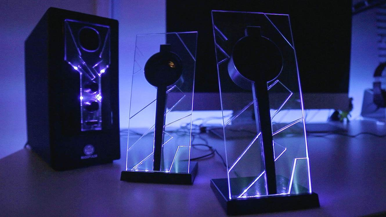 GoGroove Bass Pulse Computer Speakers