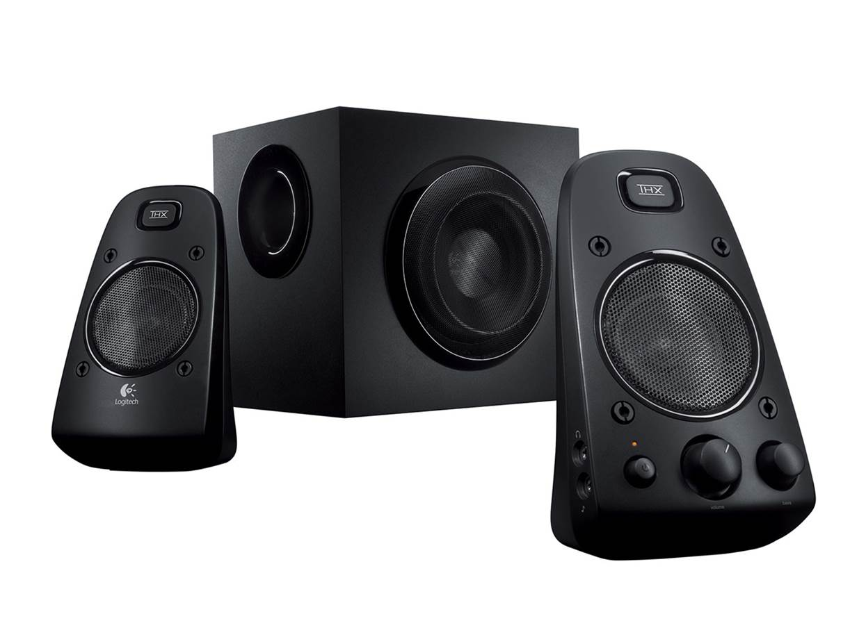 #1 Best Overall: Logitech Z623 Computer Speakers