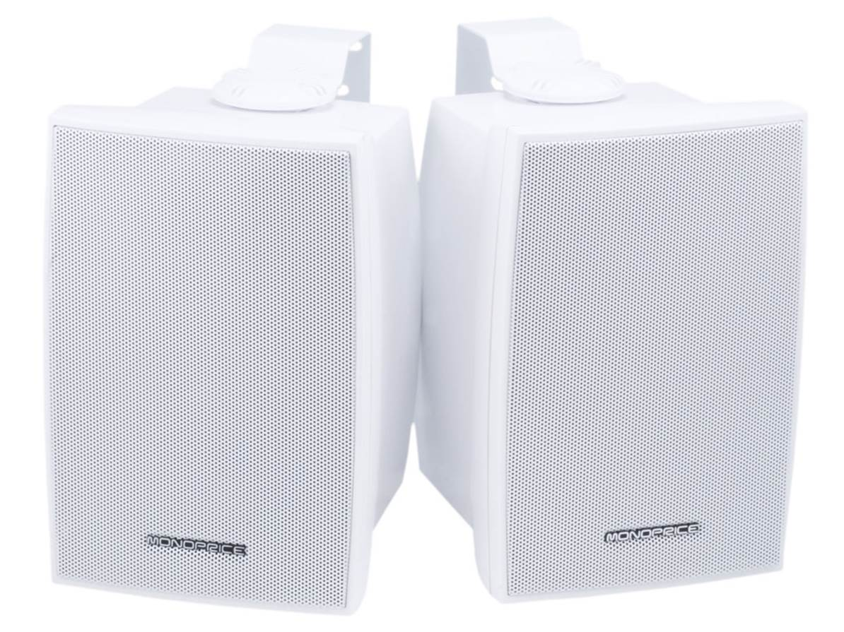 Monoprice 2-Way Weatherproof Outdoor Speakers