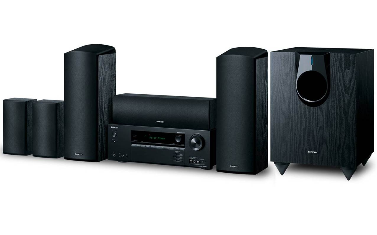 Onkyo HT-S5800 5.1 Surround Sound Speakers