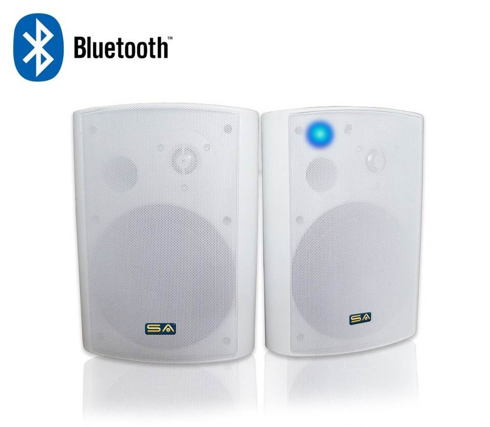 Charming #5 Best For Bluetooth: Sound Appeal Bluetooth Outdoor Speakers