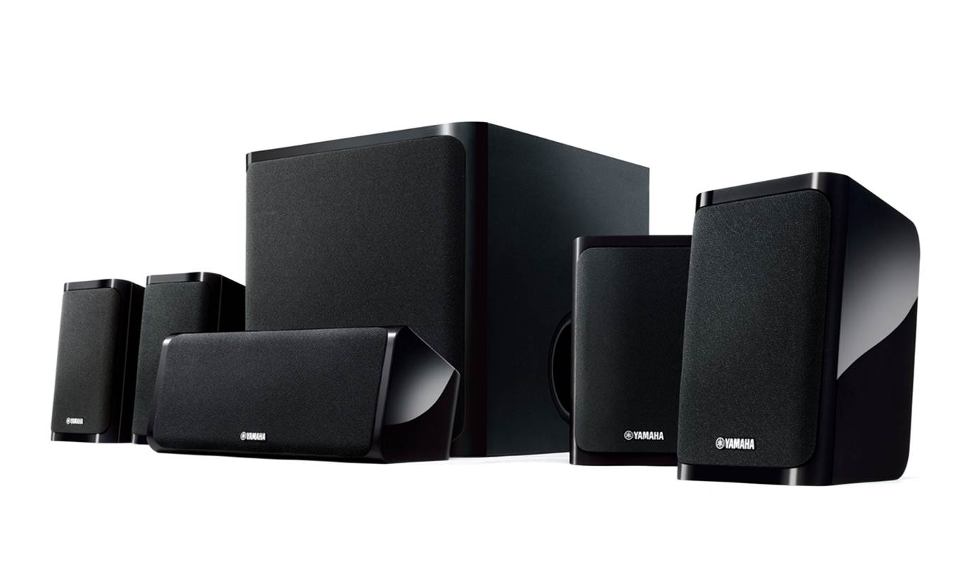 Yamaha NS-P40BL 5.1 Surround Sound Speakers