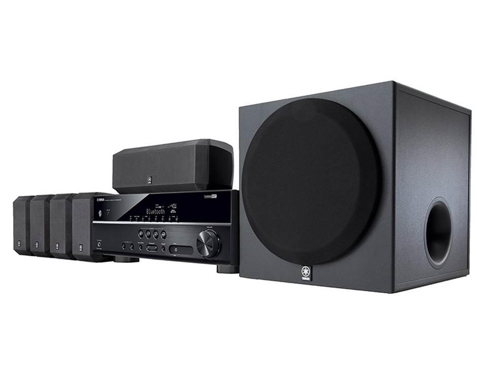 Yamaha YHT-3920UBL Surround Sound Speakers