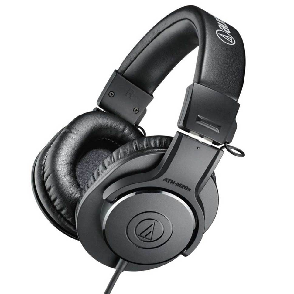 Audio Technica ATH-M20x Studio Headphones