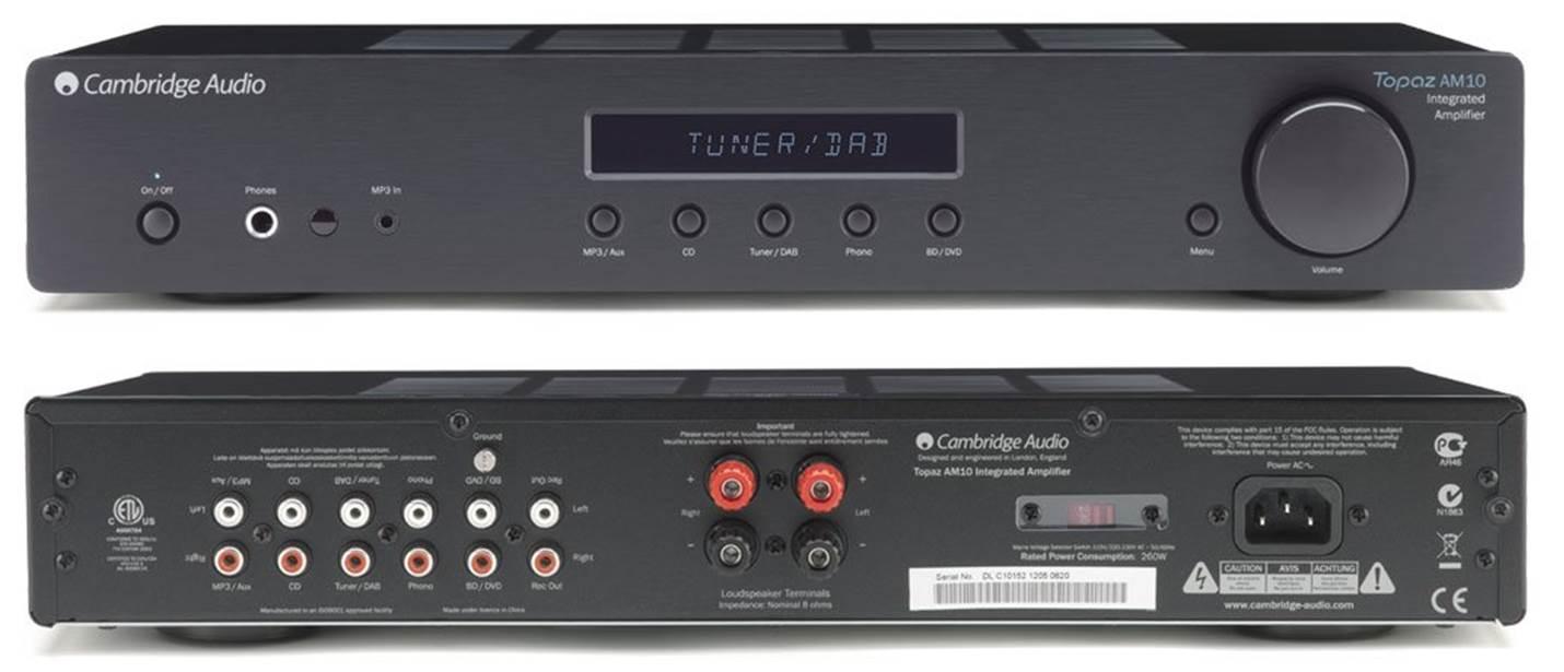Cambridge Audio Topaz AM10 Stereo Receiver