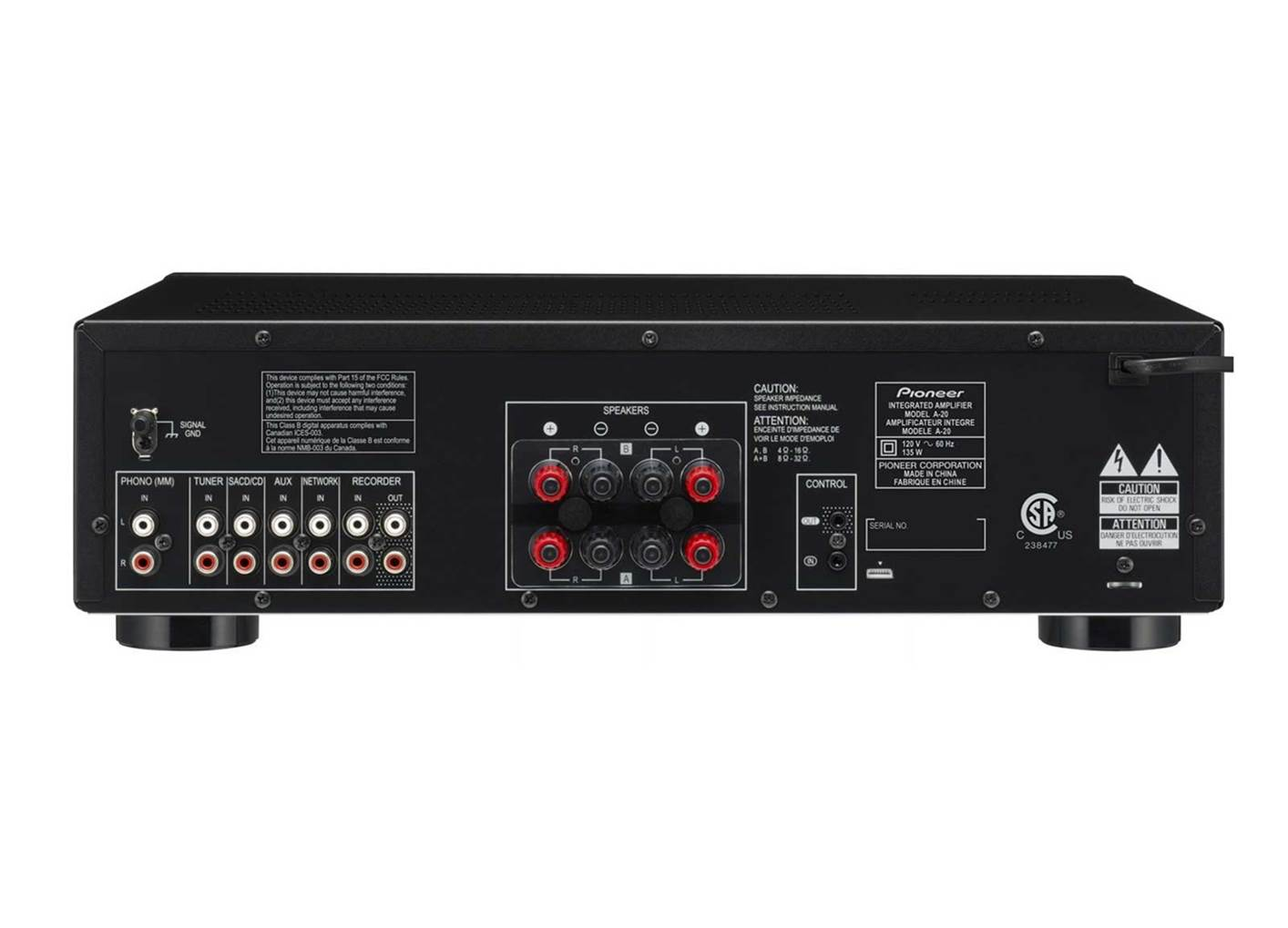 Pioneer Elite A-20 Stereo Receiver