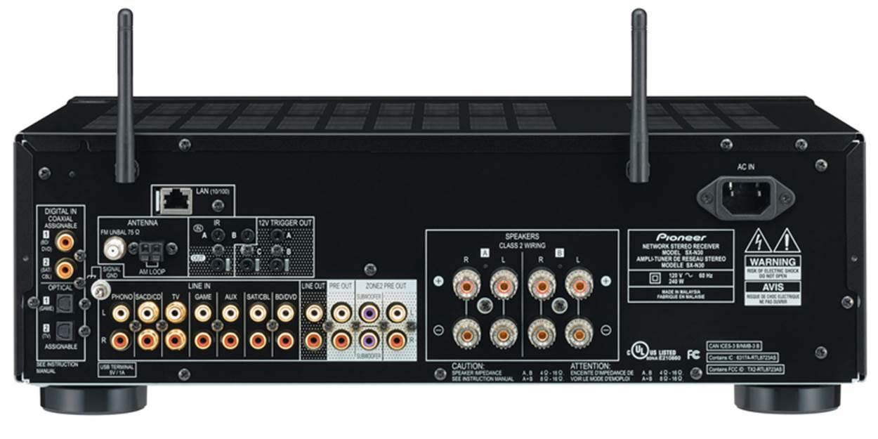 Pioneer Elite SX-N30 Network Stereo Receiver
