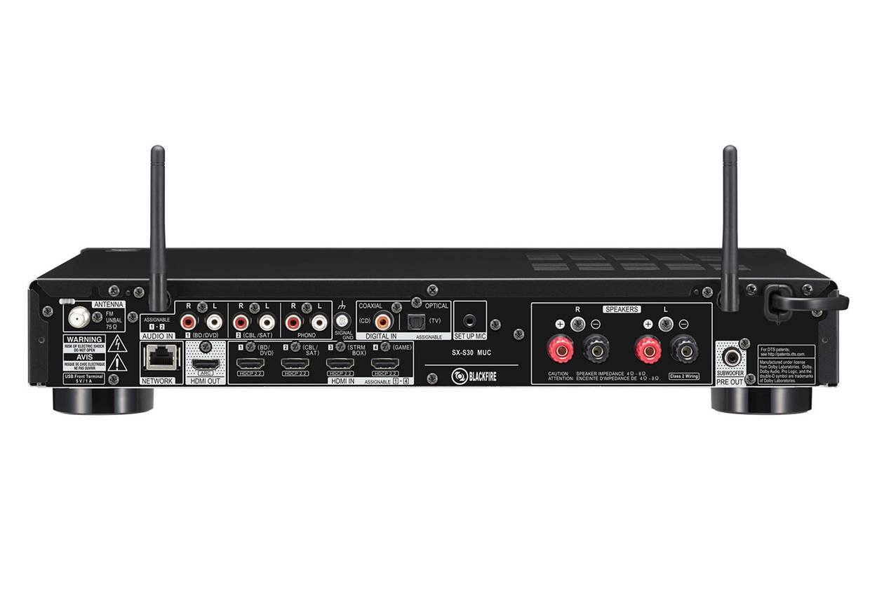 Pioneer SX-S30 Stereo Receiver