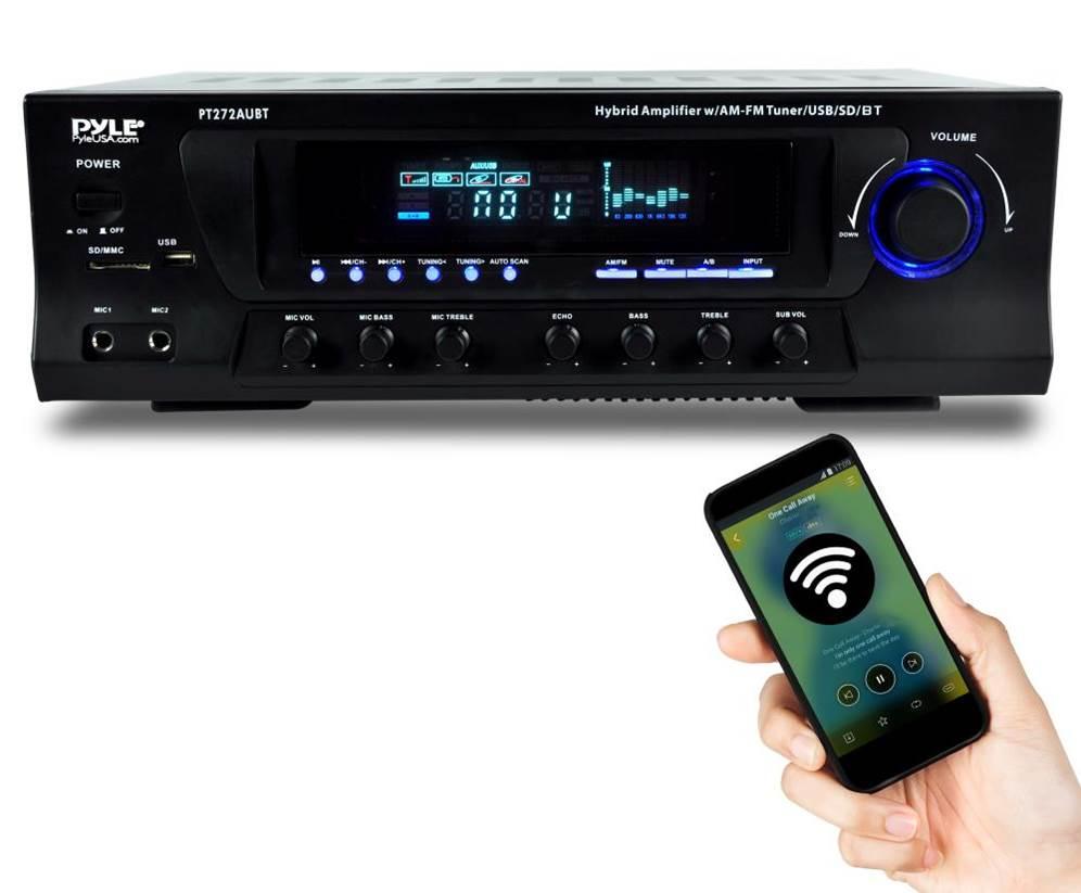 Pyle PT272AUBT Stereo Receiver