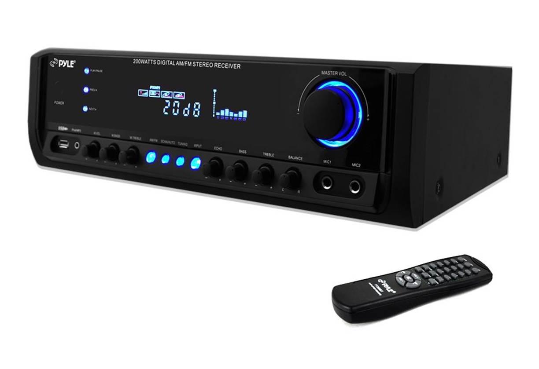 Pyle PT390AU Stereo Receiver