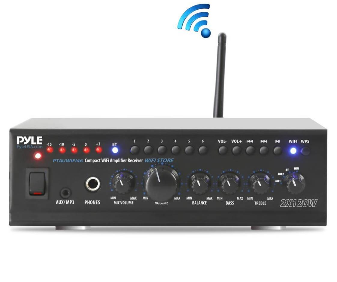 Pyle PTAUWIFI46 Stereo Receiver