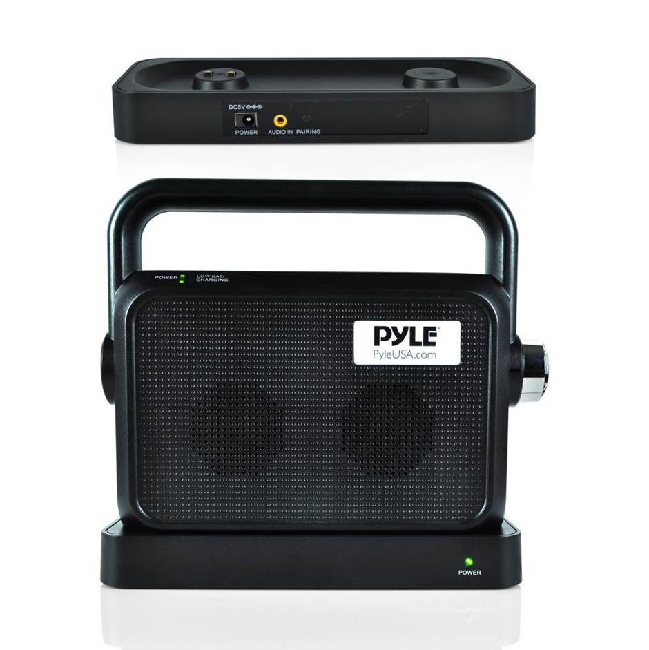 Pyle PTVSP18BK Soundbox Wireless TV Speaker