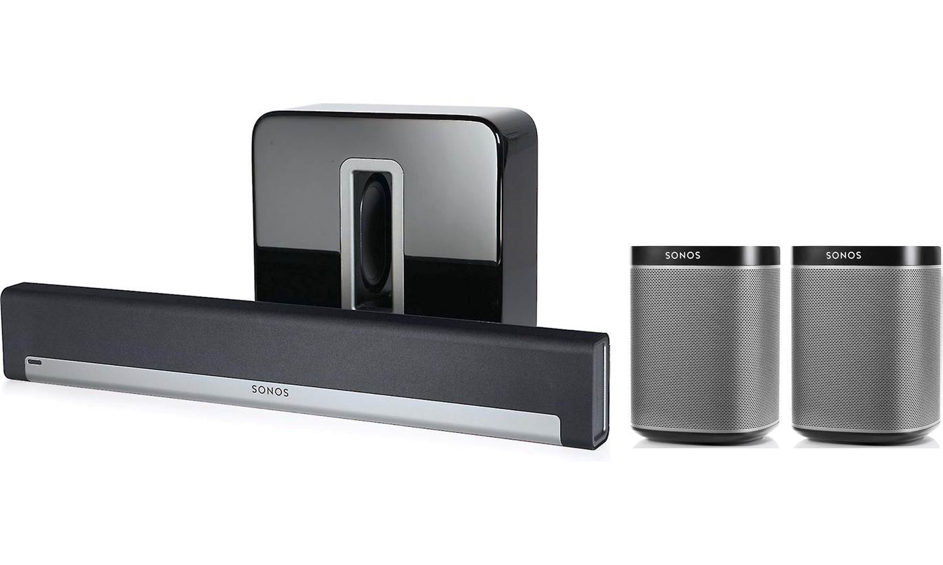 Sonos 5.1 Wireless Home Theater System