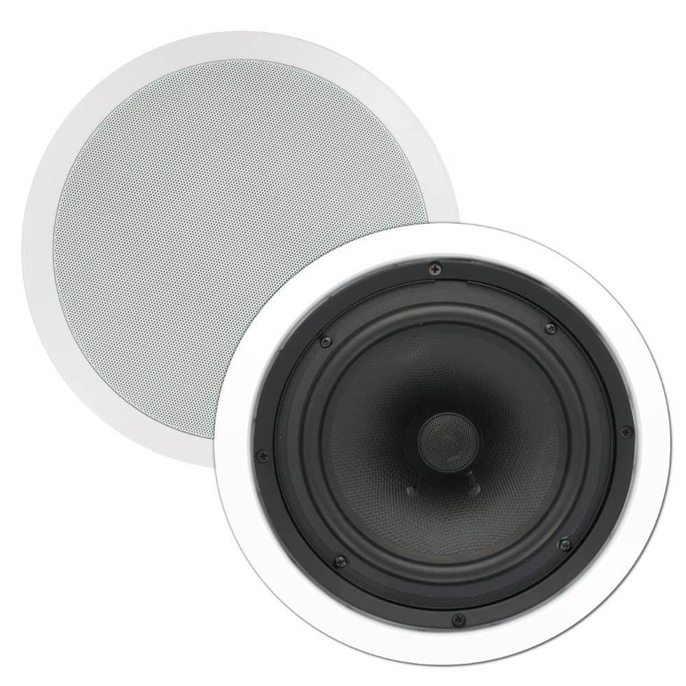 #9 Best Surround Sound: Theater Solutions TS80C 8u201d Ceiling Speaker