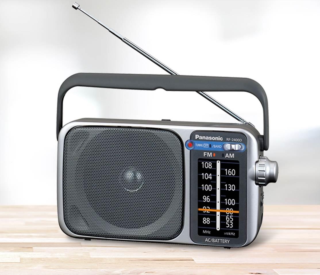 Panasonic RF-2400 AMFM Portable Radio