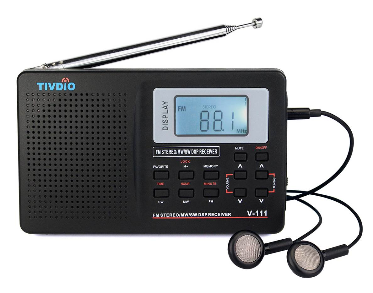TIVDIO V-111 AMFM Portable Radio