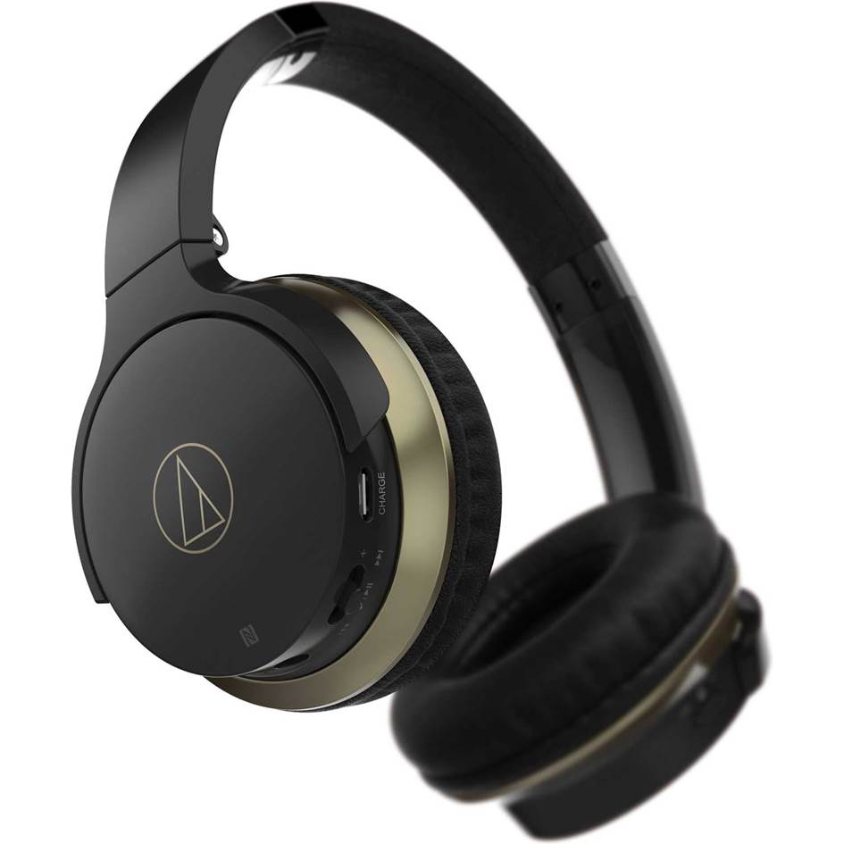 Audio-Technica ATH-AR3BTBK Wireless Bluetooth Headphones