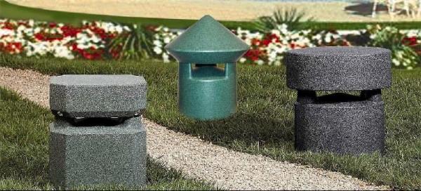 outdoor speakers placement