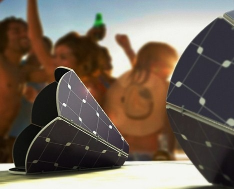 Solar Outdoor Speakers