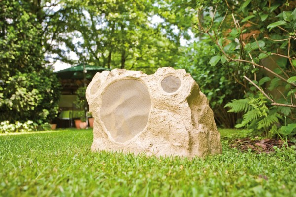 The Niles RS8Si Sandstone Pro Outdoor Rock Speakers