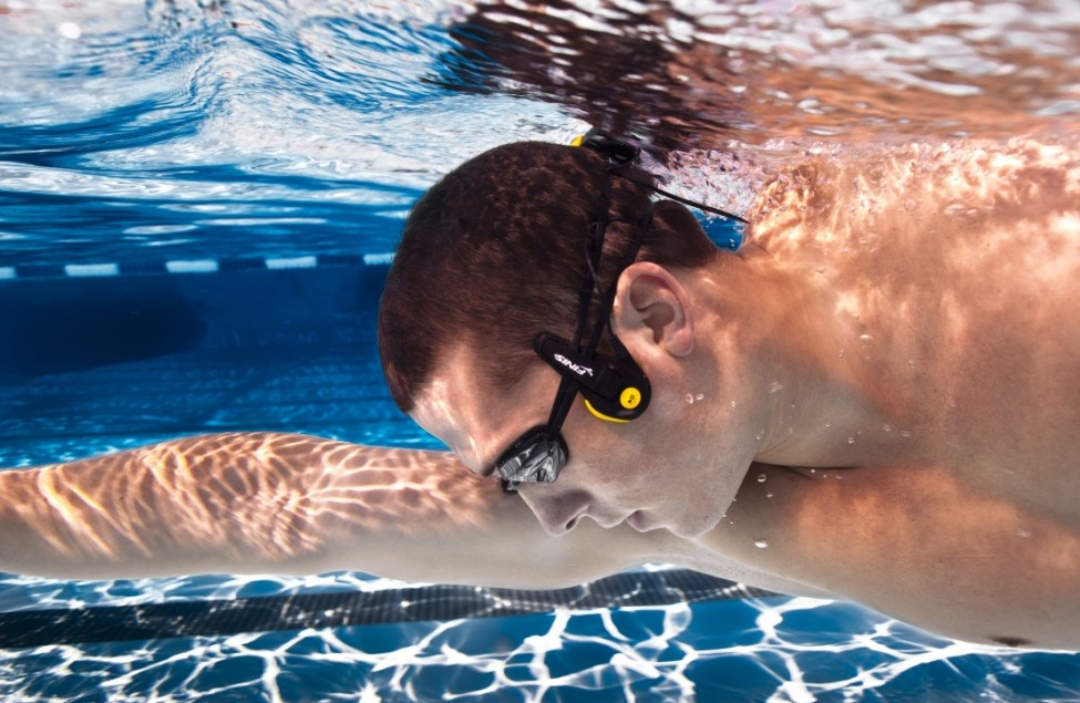 best loved e4aa8 a5953 The 10 Best Waterproof Headphones for Swimming - Bass Head Speakers
