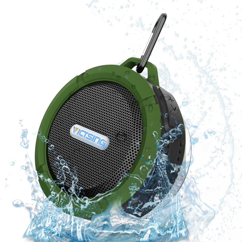 VicTsing Waterproof Bluetooth Shower Speaker