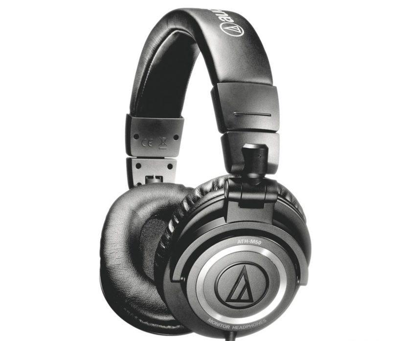 Audio-Technica ATH-M50x Best Bass Headphone