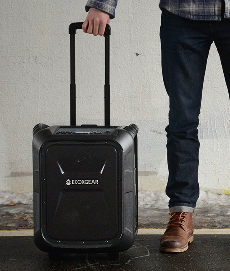EXOGEAR Eco Boulder Portable PA System