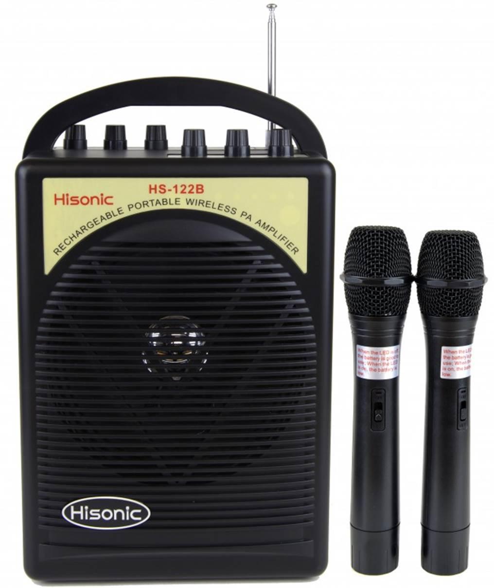 Hisonic HS122B 40 Watt Portable PA System