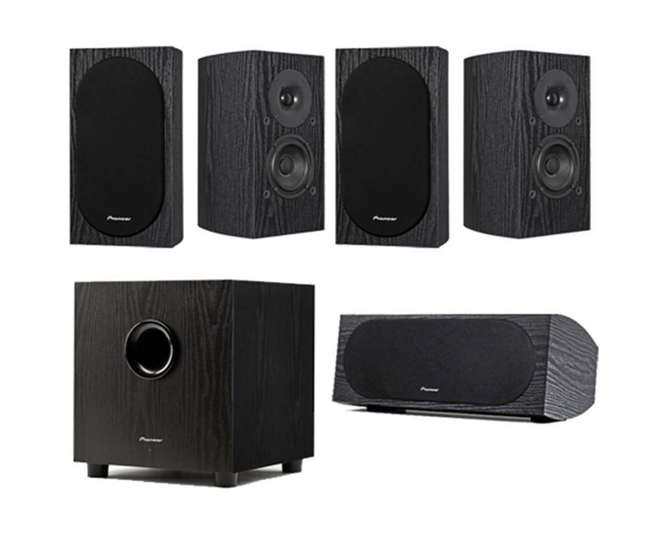 Pioneer SP-PK22BS Andrew Jones 5.1 Home Theater System