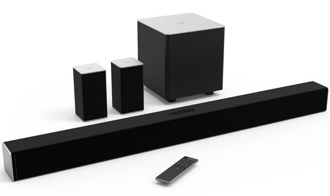 The VIZIO SB3851 5.1 Channel Home Theater System