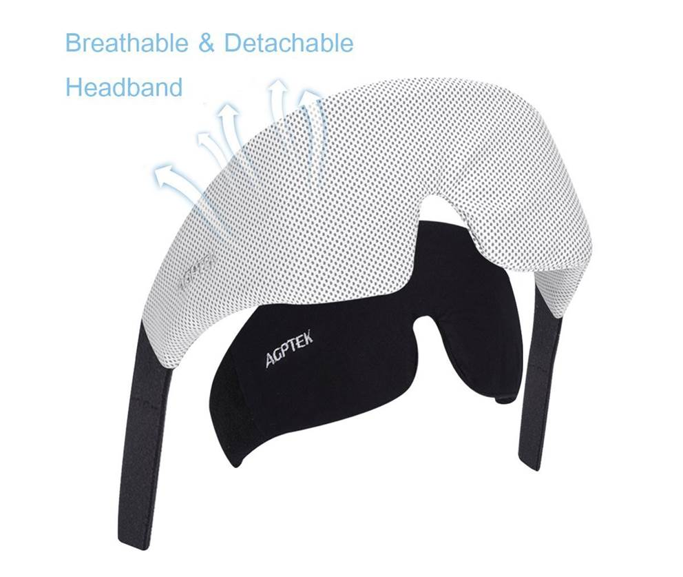 AGPtEK Ultra Soft Sleep Headphones
