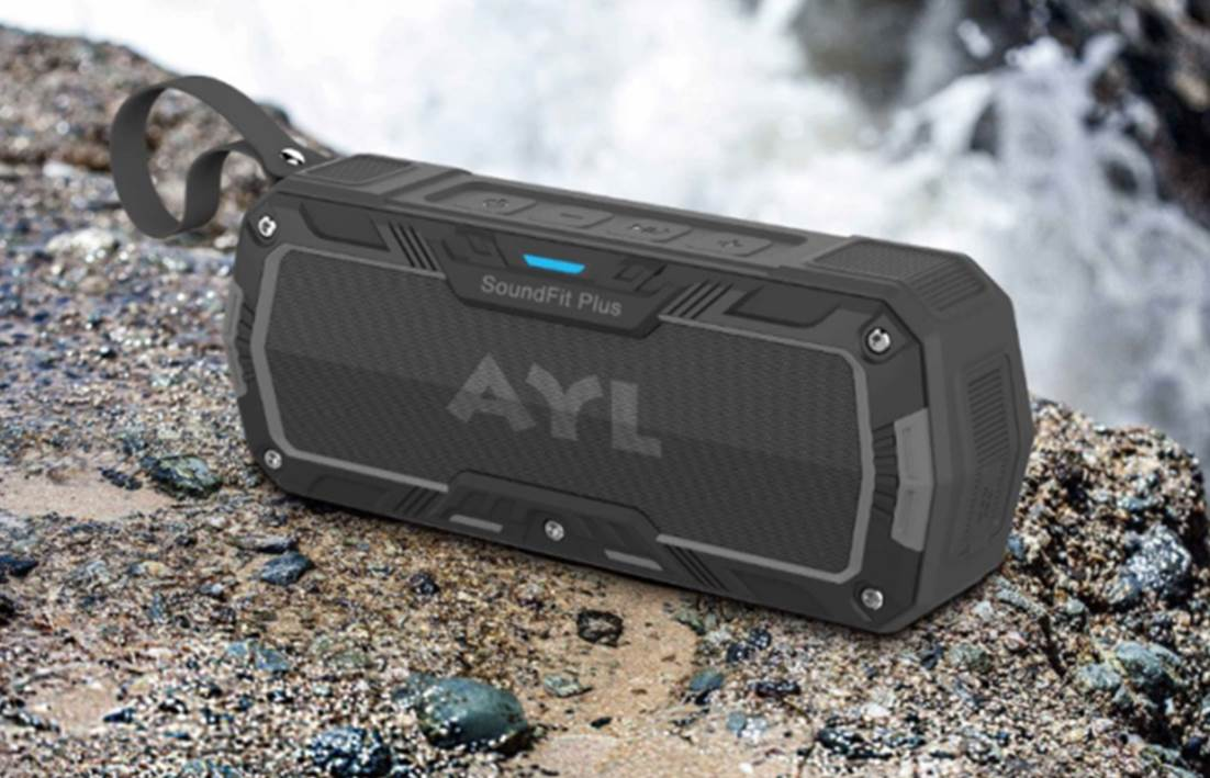 SoundFit Plus Waterproof Bluetooth Speaker