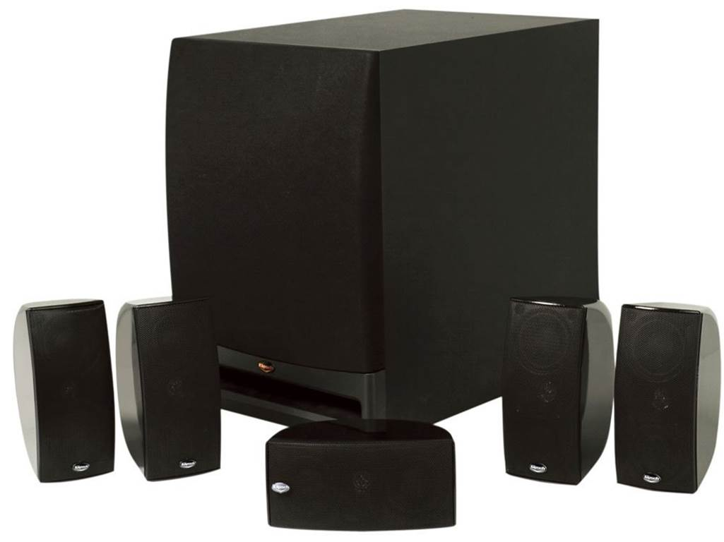 Klipsch HD1000 5.1 Surround Sound Speakers