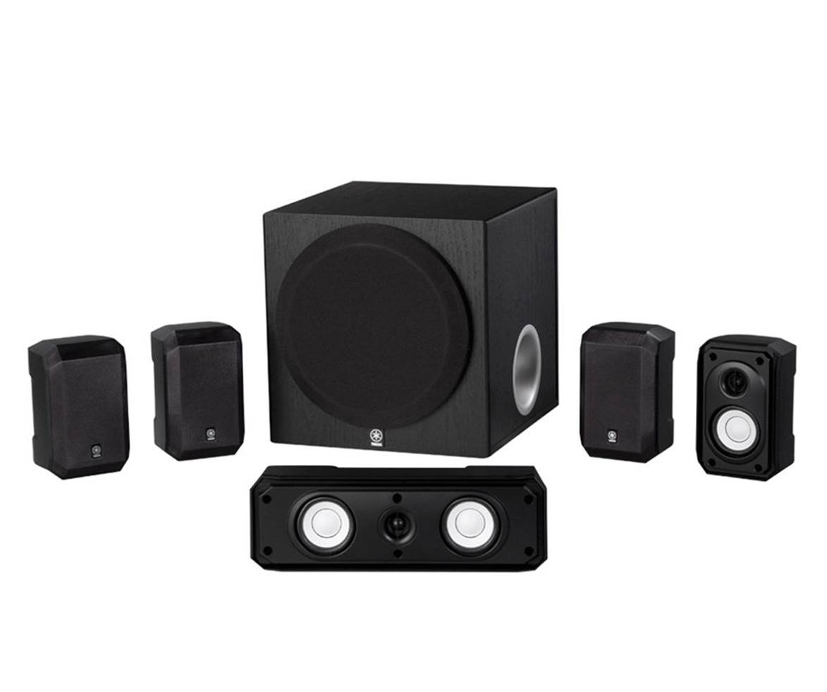 Yahama NS-SP1800BL 5.1 Surround Sound Speakers